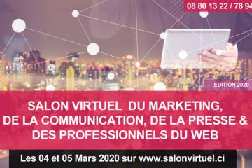 SALON VIRTUEL DU MARKETING, DE LA COMMUNICATION, DE LA PRESSE & DES PROFESSIONNELS DU WEB