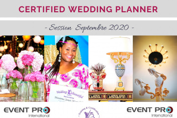 Certification Wedding Planning - Session Septembre 2020