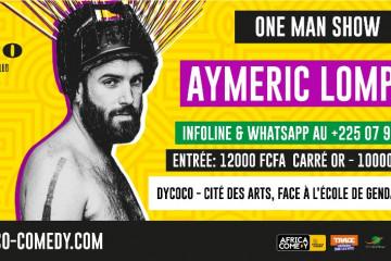 AYMERIC LOMPRET « LE RETOUR » - ONE MAN SHOW